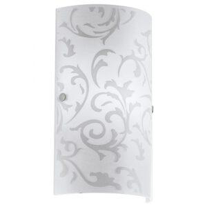 Amadora wandlamp uit de wandlampen collectie van Eglo, verlichting voor een sfeervol thuis! Schitterende lamp vervaardigd uit metaal, nikkel-mat van kleur en passend bij vele interieurstijlen. De wandlamp is voorzien van een E14 fitting. Wandlamp Amadora wordt geleverd exclusief lichtbron(nen).