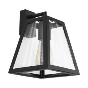 Amesbury 1 wandlamp uit de wandlampen collectie van Eglo, verlichting voor een sfeervol thuis! Schitterende lamp vervaardigd uit metaal, zwart van kleur en passend bij vele interieurstijlen. De wandlamp is voorzien van een E27 fitting. Wandlamp Amesbury 1 wordt geleverd exclusief lichtbron(nen).