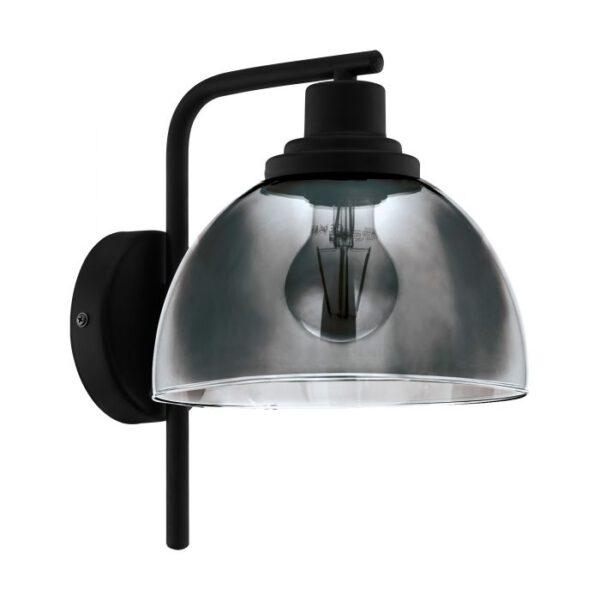 Beleser wandlamp uit de wandlampen collectie van Eglo, verlichting voor een sfeervol thuis! Schitterende lamp vervaardigd uit metaal, zwart van kleur en passend bij vele interieurstijlen. De wandlamp is voorzien van een E27 fitting. Wandlamp Beleser wordt geleverd exclusief lichtbron(nen).