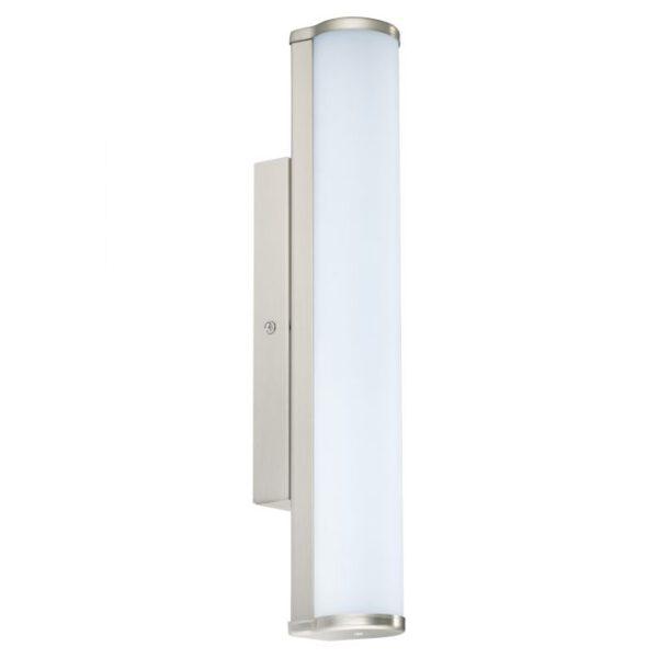 Calnova wandlamp uit de wandlampen collectie van Eglo, verlichting voor een sfeervol thuis! Schitterende lamp vervaardigd uit metaal, nikkel-mat van kleur en passend bij vele interieurstijlen. De wandlamp is voorzien van een LED fitting. Wandlamp Calnova wordt geleverd inclusief lichtbron(nen).