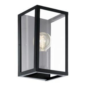 Charterhouse wandlamp uit de wandlampen collectie van Eglo, verlichting voor een sfeervol thuis! Schitterende lamp vervaardigd uit metaal, zwart van kleur en passend bij vele interieurstijlen. De wandlamp is voorzien van een E27 fitting. Wandlamp Charterhouse wordt geleverd exclusief lichtbron(nen).