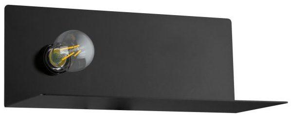 Ciglie wandlamp uit de wandlampen collectie van Eglo, verlichting voor een sfeervol thuis! Schitterende lamp vervaardigd uit metaal, zwart van kleur en passend bij vele interieurstijlen. De wandlamp is voorzien van een E27 fitting. Wandlamp Ciglie wordt geleverd exclusief lichtbron(nen).