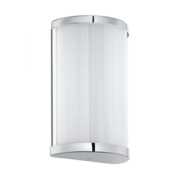 Cupella wandlamp uit de wandlampen collectie van Eglo, verlichting voor een sfeervol thuis! Schitterende lamp vervaardigd uit metaal, chroom van kleur en passend bij vele interieurstijlen. De wandlamp is voorzien van een LED fitting. Wandlamp Cupella wordt geleverd inclusief lichtbron(nen).