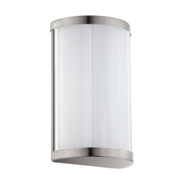 Cupella wandlamp uit de wandlampen collectie van Eglo, verlichting voor een sfeervol thuis! Schitterende lamp vervaardigd uit metaal, nikkel-mat van kleur en passend bij vele interieurstijlen. De wandlamp is voorzien van een LED fitting. Wandlamp Cupella wordt geleverd inclusief lichtbron(nen).