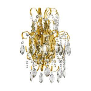 Fenoullet 1 wandlamp uit de wandlampen collectie van Eglo, verlichting voor een sfeervol thuis! Schitterende lamp vervaardigd uit metaal, geelkoper van kleur en passend bij vele interieurstijlen. De wandlamp is voorzien van een E14 fitting. Wandlamp Fenoullet 1 wordt geleverd exclusief lichtbron(nen).