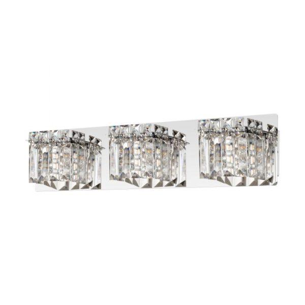 Fuertescusa wandlamp uit de wandlampen collectie van Eglo, verlichting voor een sfeervol thuis! Schitterende lamp vervaardigd uit metaal, chroom van kleur en passend bij vele interieurstijlen. De wandlamp is voorzien van een G9-LED fitting. Wandlamp Fuertescusa wordt geleverd inclusief lichtbron(nen).