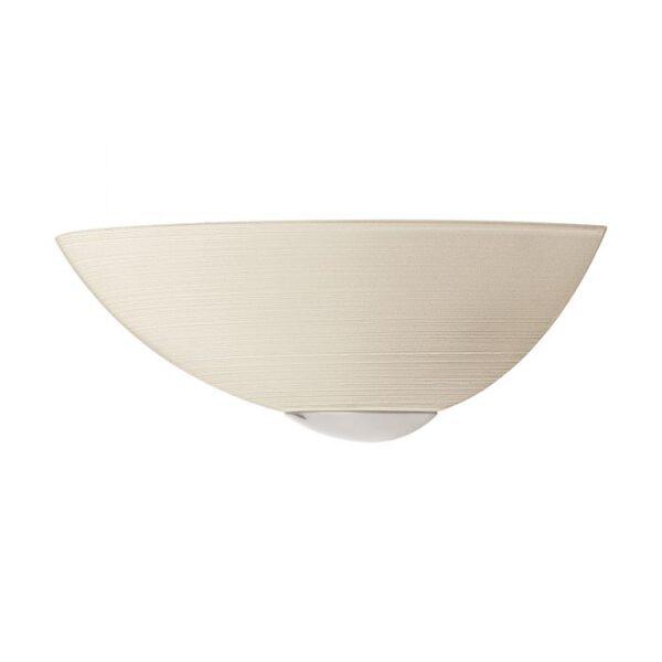 Malva wandlamp uit de wandlampen collectie van Eglo, verlichting voor een sfeervol thuis! Schitterende lamp vervaardigd uit metaal, wit, nikkel-mat van kleur en passend bij vele interieurstijlen. De wandlamp is voorzien van een E27 fitting. Wandlamp Malva wordt geleverd exclusief lichtbron(nen).