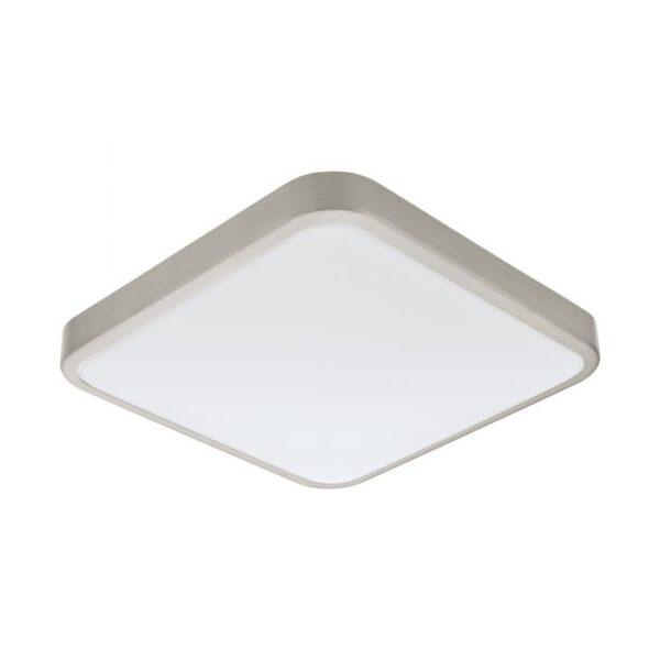Manilva 1 wandlamp uit de wandlampen collectie van Eglo, verlichting voor een sfeervol thuis! Schitterende lamp vervaardigd uit metaal, nikkel-mat van kleur en passend bij vele interieurstijlen. De wandlamp is voorzien van een LED fitting. Wandlamp Manilva 1 wordt geleverd inclusief lichtbron(nen).