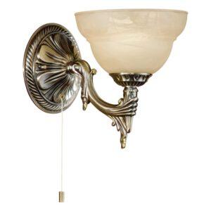 Marbella wandlamp uit de wandlampen collectie van Eglo, verlichting voor een sfeervol thuis! Schitterende lamp vervaardigd uit metaalgietsel, gebronsd van kleur en passend bij vele interieurstijlen. De wandlamp is voorzien van een E14 fitting. Wandlamp Marbella wordt geleverd exclusief lichtbron(nen).