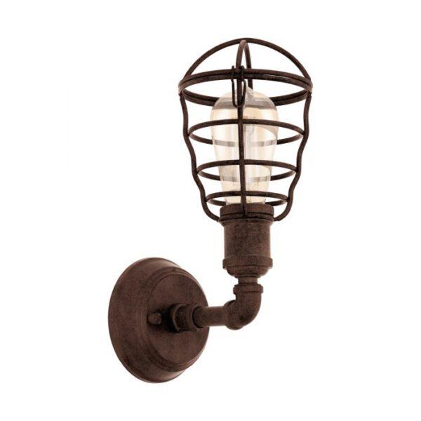 Port Seton wandlamp uit de wandlampen collectie van Eglo, verlichting voor een sfeervol thuis! Schitterende lamp vervaardigd uit metaal, antiek-bruin van kleur en passend bij vele interieurstijlen. De wandlamp is voorzien van een E27 fitting. Wandlamp Port Seton wordt geleverd exclusief lichtbron(nen).