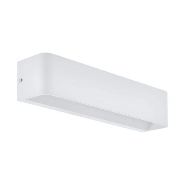 Sania 4 wandlamp uit de wandlampen collectie van Eglo, verlichting voor een sfeervol thuis! Schitterende lamp vervaardigd uit aluminium, wit van kleur en passend bij vele interieurstijlen. De wandlamp is voorzien van een LED fitting. Wandlamp Sania 4 wordt geleverd inclusief lichtbron(nen).