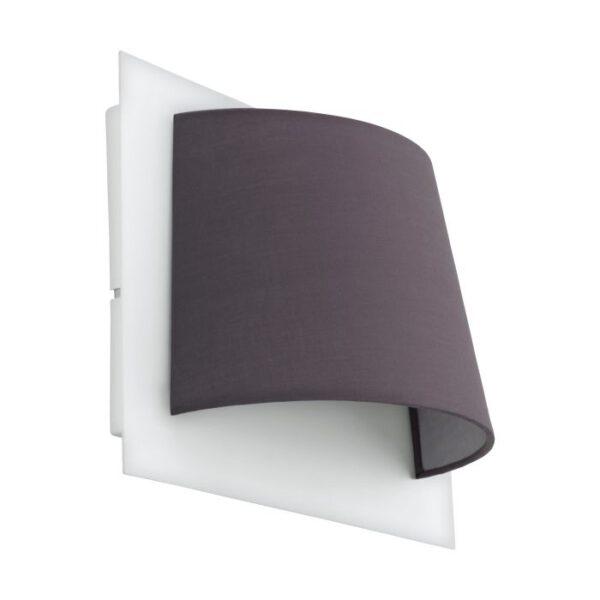 Serravalle wandlamp uit de wandlampen collectie van Eglo, verlichting voor een sfeervol thuis! Schitterende lamp vervaardigd uit metaal, wit van kleur en passend bij vele interieurstijlen. De wandlamp is voorzien van een LED fitting. Wandlamp Serravalle wordt geleverd inclusief lichtbron(nen).