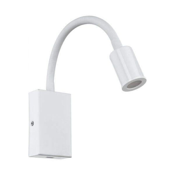Tazzoli wandlamp uit de wandlampen collectie van Eglo, verlichting voor een sfeervol thuis! Schitterende lamp vervaardigd uit metaal, wit van kleur en passend bij vele interieurstijlen. De wandlamp is voorzien van een LED fitting. Wandlamp Tazzoli wordt geleverd inclusief lichtbron(nen).