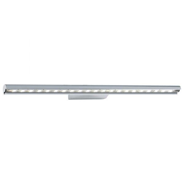 Terros wandlamp uit de wandlampen collectie van Eglo, verlichting voor een sfeervol thuis! Schitterende lamp vervaardigd uit aluminium, chroom van kleur en passend bij vele interieurstijlen. De wandlamp is voorzien van een LED fitting. Wandlamp Terros wordt geleverd inclusief lichtbron(nen).