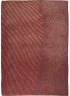 Vloerkleed Waves Shores 9134 van Eurogros 170x240, uitgevoerd in 85% Katoen / 15% Polyester - Gedessineerd
