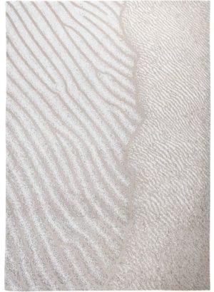 Vloerkleed Waves Shores 9135 van Eurogros 170x240, uitgevoerd in 85% Katoen / 15% Polyester - Gedessineerd