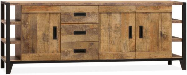 Sheffield dressoir in Lamulux melamine orient - Feelings