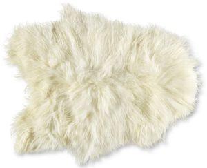 Schapenvacht ijslands langharig wit  schapenvacht langharig Feelings Lowik Meubelen