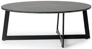 Nero salontafel New Arrival metaal / marmer salontafel van metaal in combinatie met marmer100x60x40(h) Feelings Lowik Meubelen