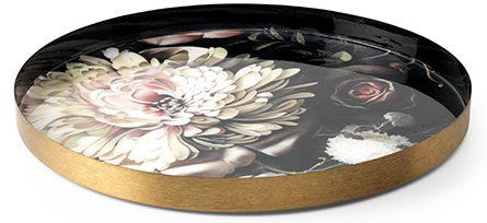 Flower dienblad Ø41   dienbladØ41x2(h) Feelings Lowik Meubelen