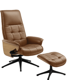 Square fauteuil / relaxfauteuil van Flexlux - by Theca