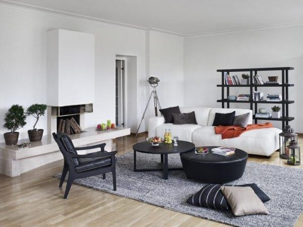 Zeus bank met eilend, elementen sofa uit de Furninova banken collectie