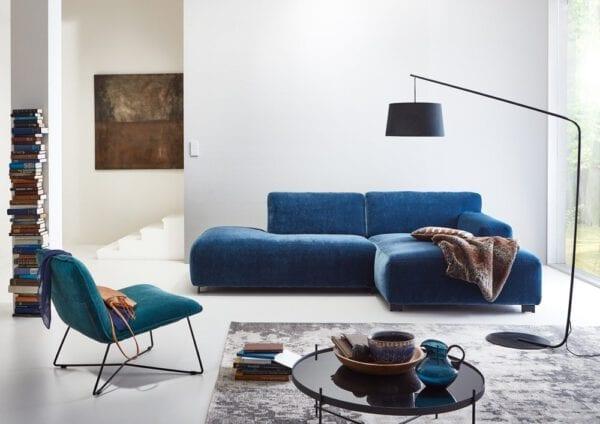 Zeus hoekbank, elementen sofa uit de Furninova banken collectie - met fauteuil fly