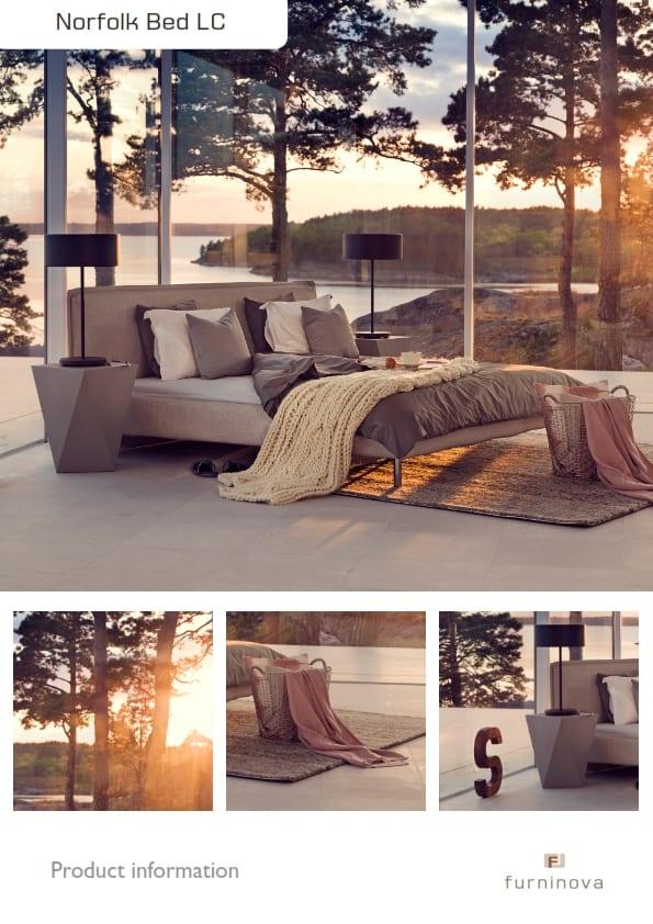 Norfolk bed / ledikant Furninova