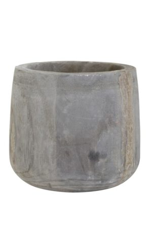 pot deco vialas wood grey IN.HOUSE Accessoires Lowik Wonen & Slapen