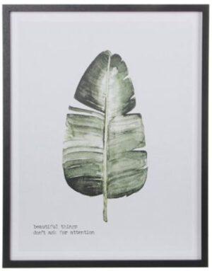 wandhanger leaf green Wanddecoratie IN.HOUSE Accessoires Lowik Meubelen