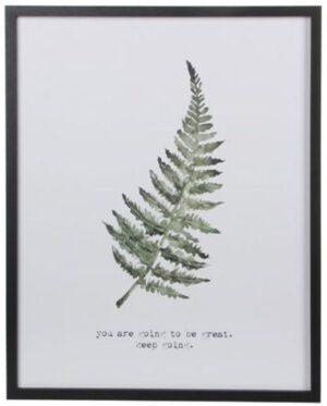 wandhanger leaf groen Wanddecoratie IN.HOUSE Accessoires Lowik Meubelen