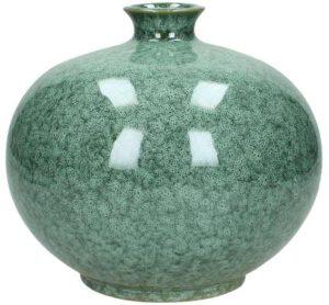 vaas ceramic green IN.HOUSE Accessoires Lowik Wonen & Slapen