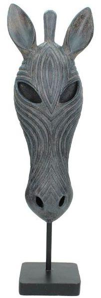 ornament zebra polyresin brown Woonaccessoire IN.HOUSE Accessoires Lowik Meubelen