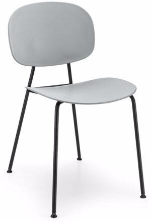 Tondina stoel Infiniti, moderne design eetkamerstoel met een minimalistisch design