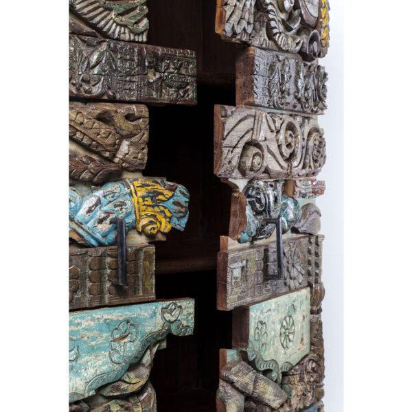 Kare Design Kast Shanti Surprise Puzzle - 2Doors kast 79764 - Lowik Meubelen