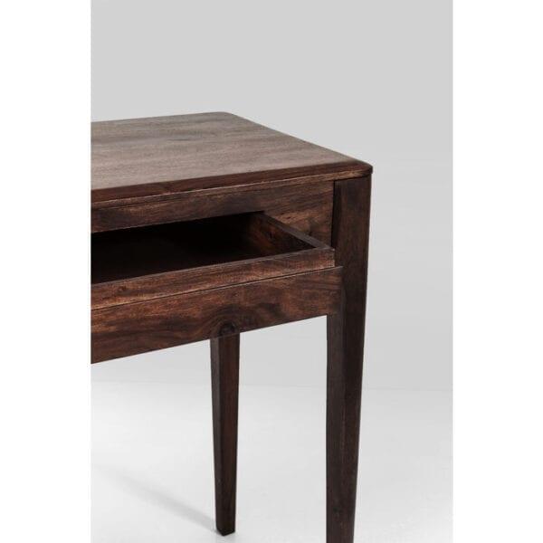 Kare Design Laptoptafel Brooklyn Walnut - 110x40cm laptoptafel 81260 - Lowik Meubelen