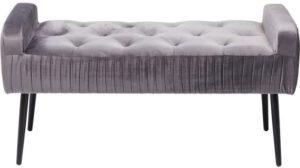 Kare Design Lofty Grey Black eetbank 80920 - Lowik Meubelen