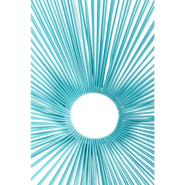 Kare Design Fauteuil Acapulco Turquoise fauteuil 85274 - Lowik Meubelen