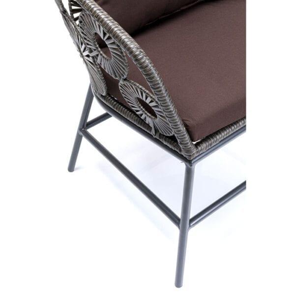 Kare Design Fauteuil Outdoor Ibiza Brown fauteuil 85482 - Lowik Meubelen