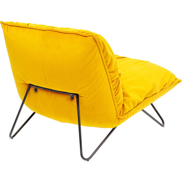 Kare Design Fauteuil Port Pino Yellow fauteuil 85056 - Lowik Meubelen