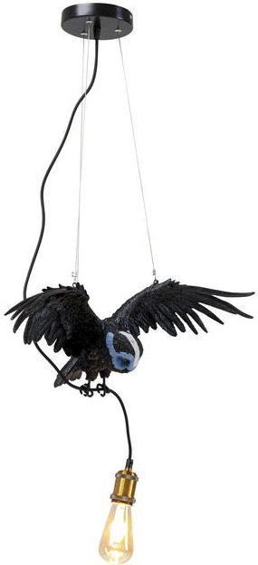 Kare Design Hanglamp Blue Mask Owl Black hanglamp 52758 - Lowik Meubelen