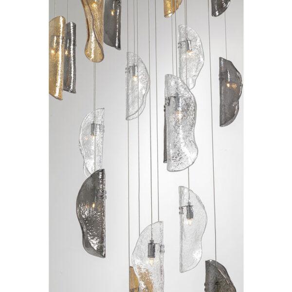 Kare Design Hanglamp Leaf Through hanglamp 52657 - Lowik Meubelen