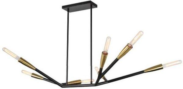 Kare Design Hanglamp Monte Carlo Sette Brass hanglamp 52757 - Lowik Meubelen