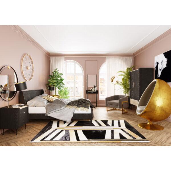 Kare Design Kapstok with Spiegel Milano kapstok 85338 - Lowik Meubelen