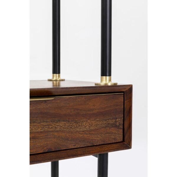 Kare Design Kapstok with Spiegel Ravello - 178x50 kapstok 85435 - Lowik Meubelen