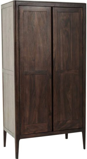 Kare Design Kledingkast Brooklyn Walnut kledingkast 81965 - Lowik Meubelen
