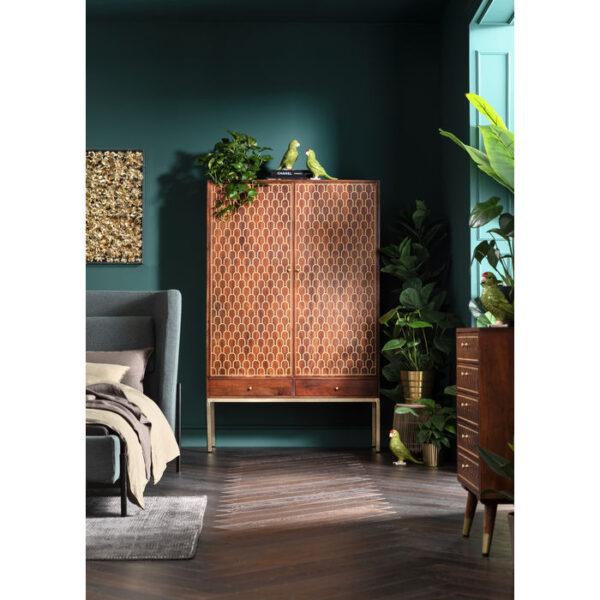Kare Design Kledingkast Muskat kledingkast 84921 - Lowik Meubelen