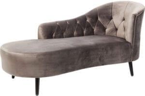 Kare Design Loungebank Julietta Grey loungebank 83591 - Lowik Meubelen