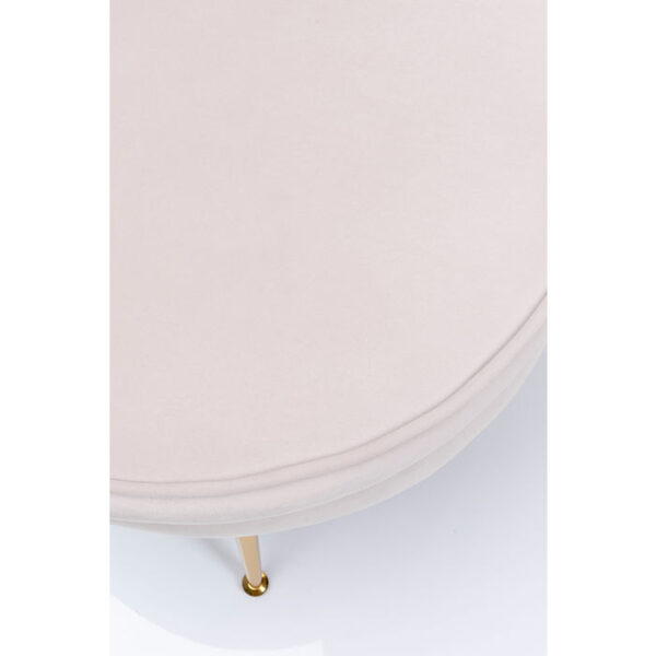 Kare Design Poef Water Lily Beige poef 85329 - Lowik Meubelen