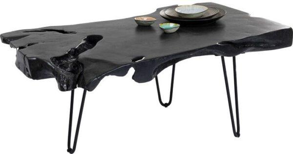 Kare Design Salontafel Aspen Black - 100x40 salontafel 85272 - Lowik Meubelen